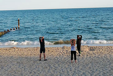 Bournemouth Fitness Group - Exercise Training on the Beach